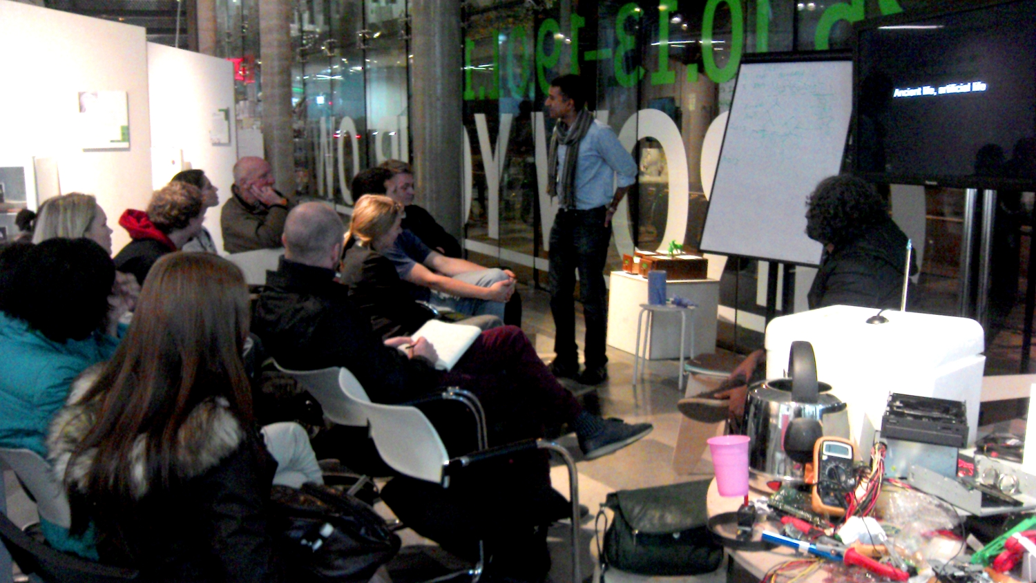 Exhibition/Workshop/Talks at the Science Gallery in Dublin