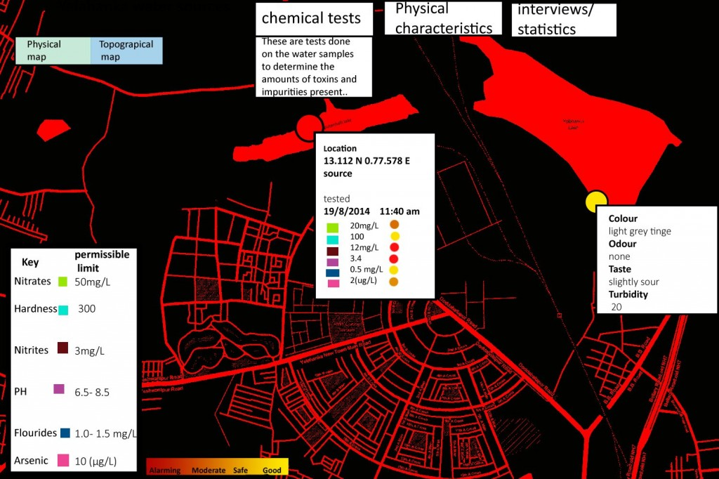 yelahanka map red black