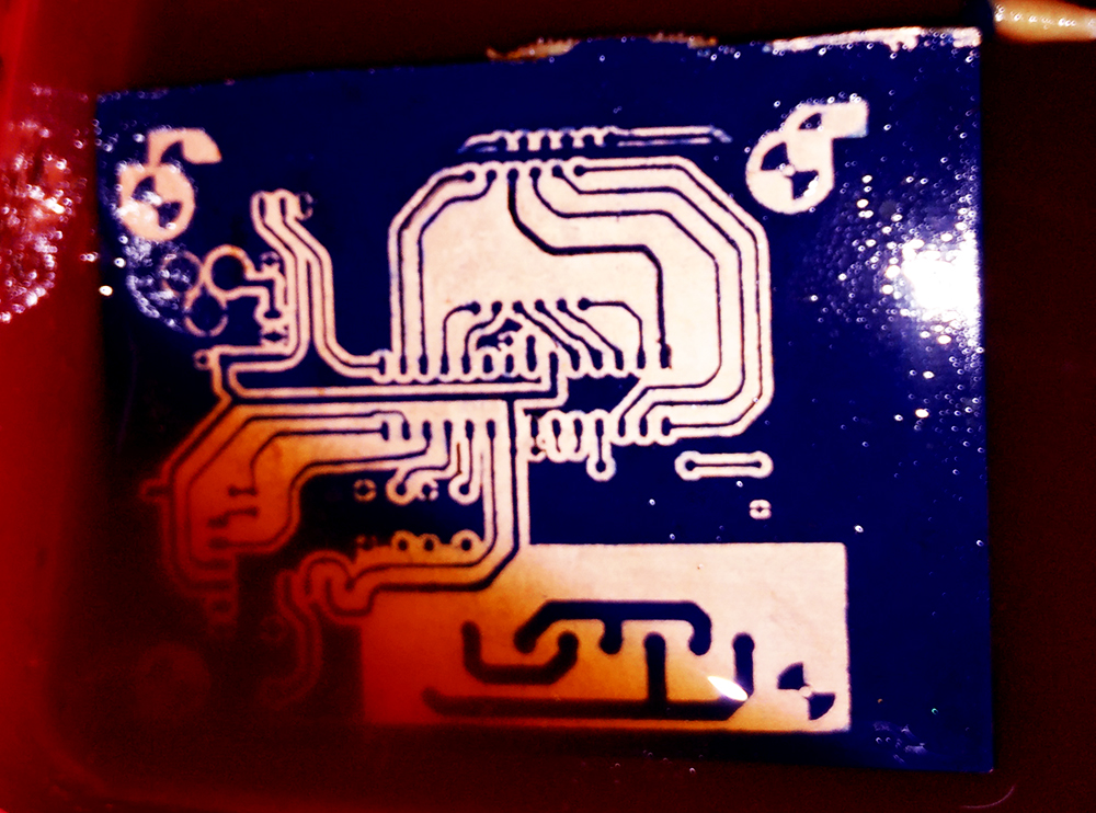 PCB printing using a Laser Cutter