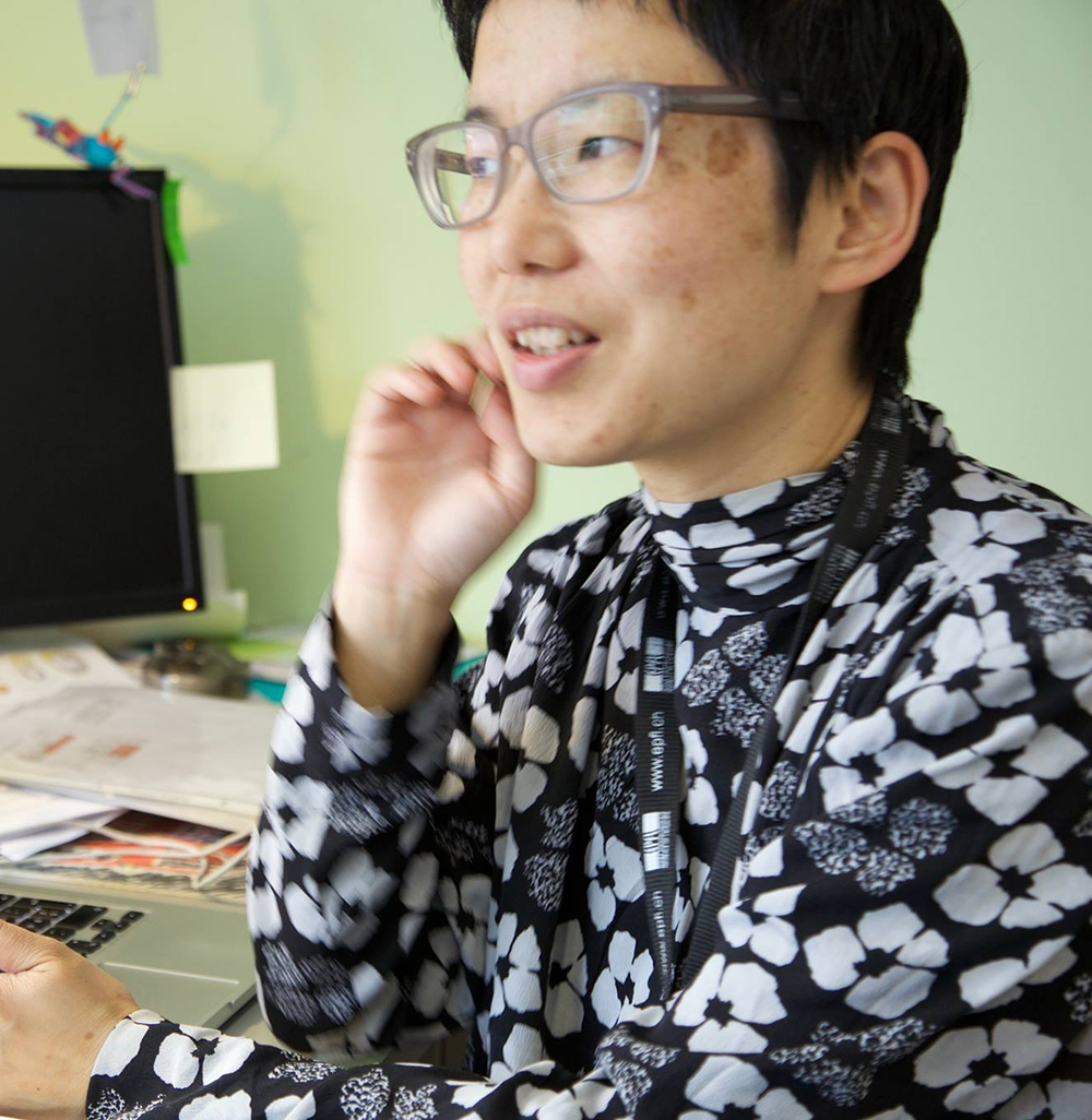 Sachiko Hirosue – Scientist in Residence