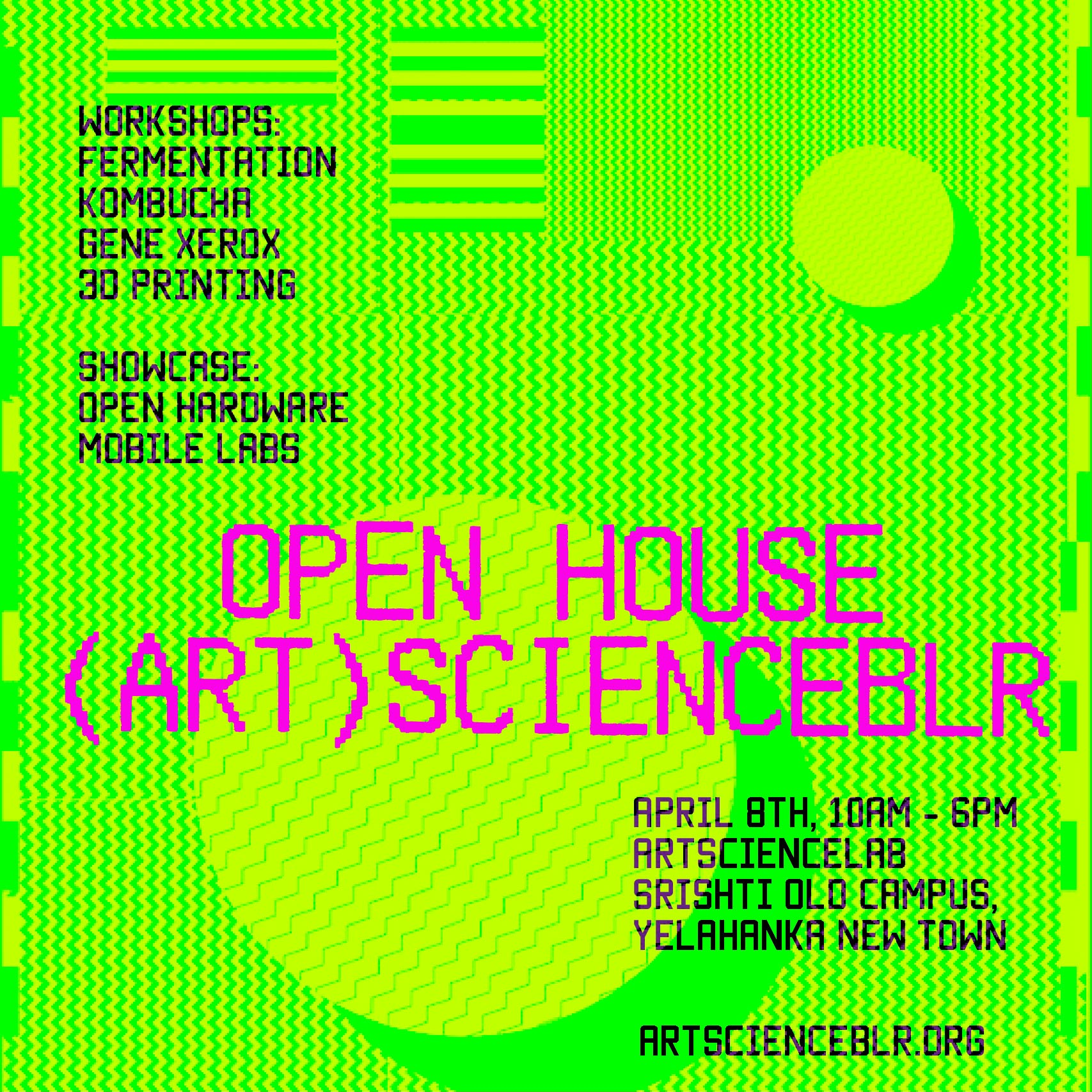 (Art)ScienceBLR Open House
