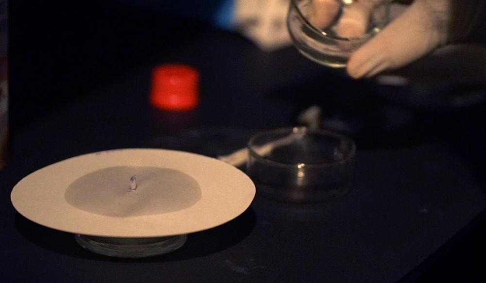 silver nitrate diffusing