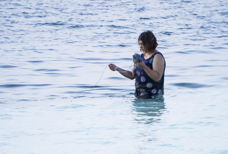 underwater recording