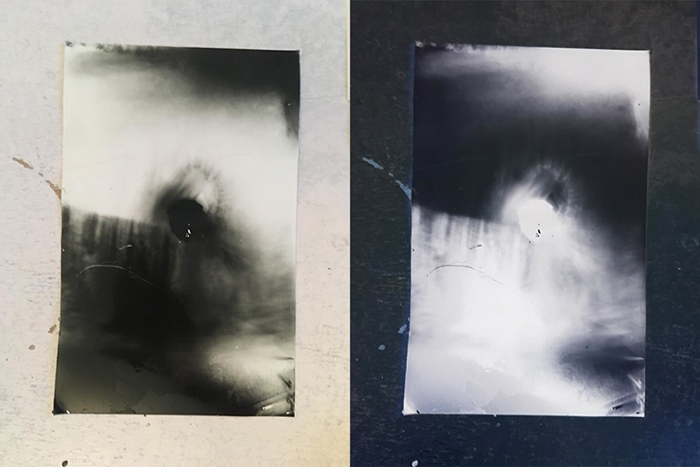 abstract pinhole photo