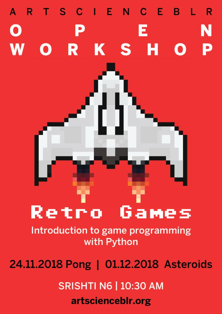 retro games poster