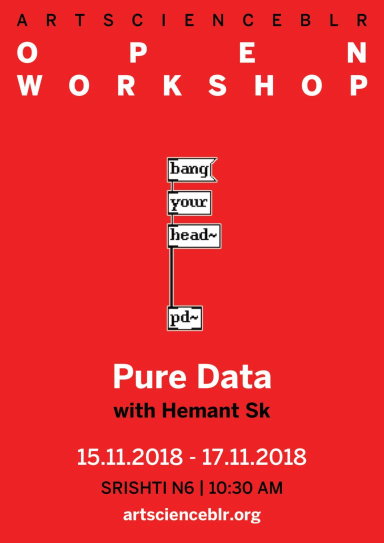 Open Workshop: Pure Data - (Art)ScienceBLR