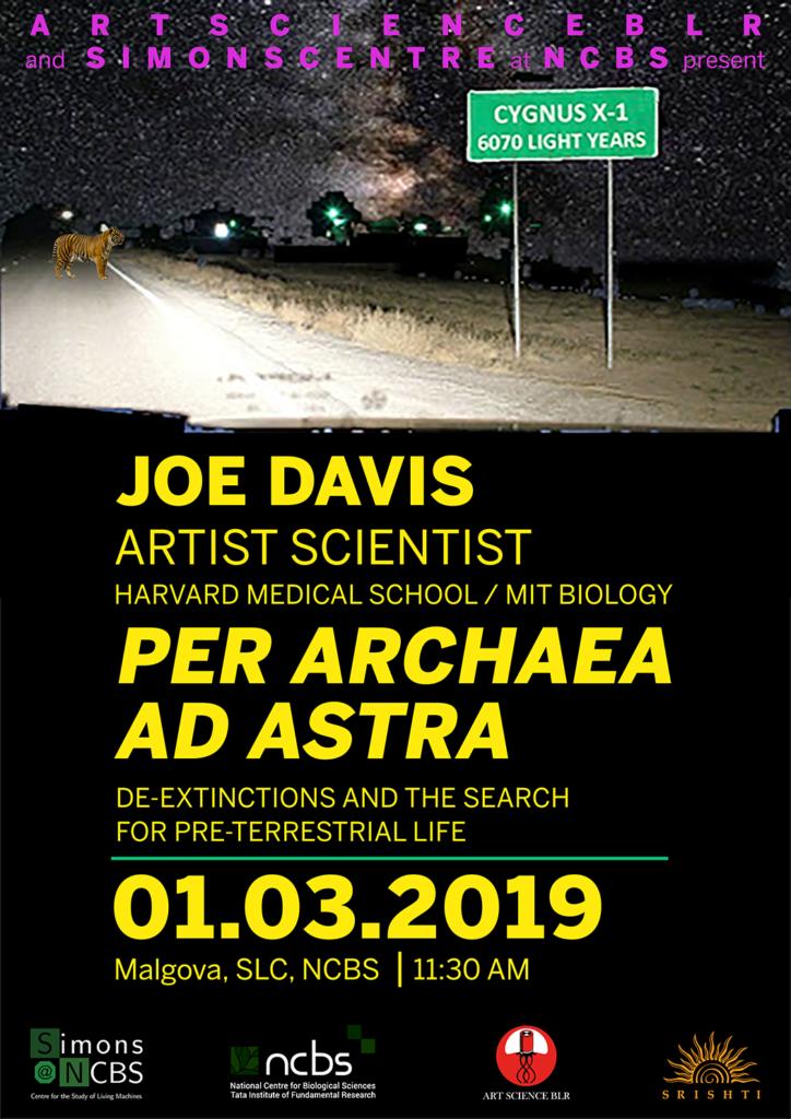 per archaea ad astra poster